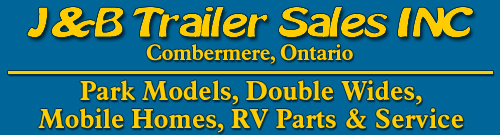 J&B Trailer Sales in Combermere, Ontario