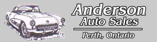 Anderson Auto Sales in Perth, Ontario