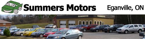 Summers Motors Eganville in Eganville, Ontario
