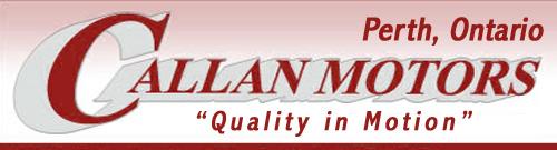 Callan Motors in Perth, Ontario