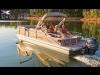 2014 G3 X3 24SS Suncatcher 3 log Cruise, Motor & Trailer For Sale Near Ottawa, Ontario