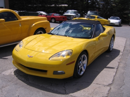 2007 Chevrolet Corvette Convertible at Wright's Motors Perth in Perth, Ontario