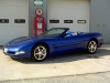 2002 Chevrolet Corvette Convertible Electron Blue Metallic
