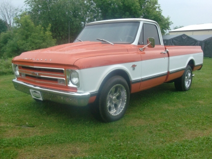 1967 Chevrolet 1/2 Ton C10 at Last Chance Auto Restore in Yarker, Ontario
