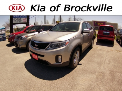 2014 KIA Sorento LX GDI at Kia of Brockville in Brockville, Ontario