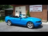 2010 Ford Mustang Convertible GT in Rare Grabber Blue For Sale Near Kingston, Ontario