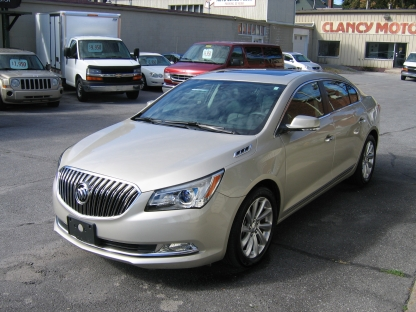 2014 Buick Lacrosse at Clancy Motors in Kingston, Ontario