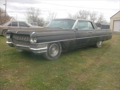 1964 Cadillac Coupe Deville at Last Chance Auto Restore in Yarker, Ontario