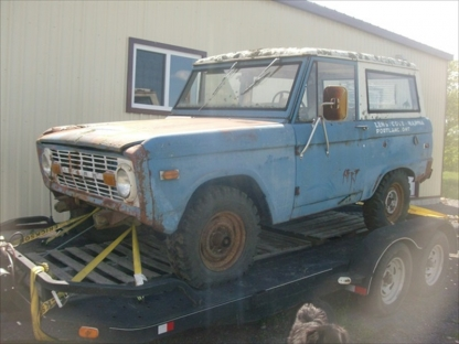 1972 Ford Bronco II Convertible 4X4 at Last Chance Auto Restore in Yarker, Ontario