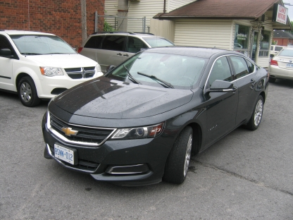 2014 Chevrolet Impala LS at Clancy Motors in Kingston, Ontario