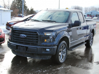 2016 ford f 150 fx4 sport super cab 4x4 at murphy ford in pembroke ontario. Black Bedroom Furniture Sets. Home Design Ideas