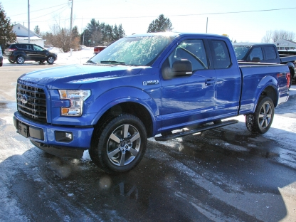 2016 ford f 150 fx 4 super cab 4x4 at murphy ford in pembroke ontario. Black Bedroom Furniture Sets. Home Design Ideas