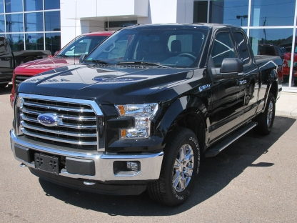 2016 ford f 150 xtr super cab 4x4 at murphy ford in pembroke ontario. Black Bedroom Furniture Sets. Home Design Ideas
