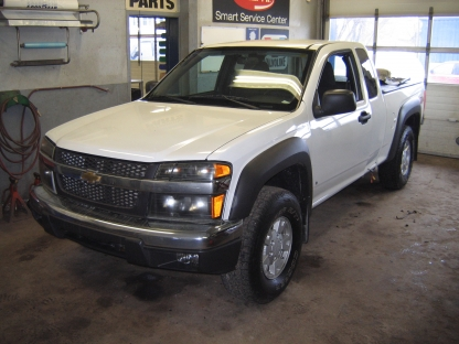 2007 chevrolet colorado lt ext cab z71 4x4 at blacklock. Black Bedroom Furniture Sets. Home Design Ideas