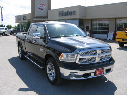 2015 ram 1500 laramie crew cab 4x4 ecodiesel at hinton dodge chrysler in perth ontario. Black Bedroom Furniture Sets. Home Design Ideas
