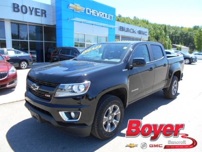 2016 chevrolet colorado z71 crew cab 4x4 diesel at boyer gm bancroft in bancroft ontario. Black Bedroom Furniture Sets. Home Design Ideas