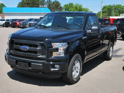 2016 ford f 150 xl sport regular cab 4x4 at murphy ford in pembroke ontario. Black Bedroom Furniture Sets. Home Design Ideas