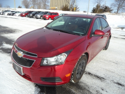 2014 Chevrolet Cruze at Victory Lane Auto Sales in Kingston, Ontario
