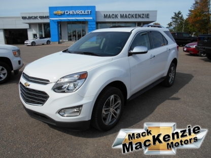 2017 chevrolet equinox premier awd at mack mackenzie. Black Bedroom Furniture Sets. Home Design Ideas