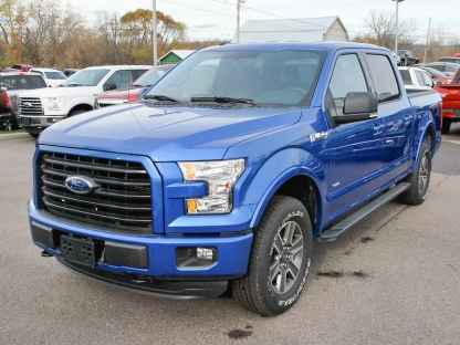 2016 ford f 150 xlt supercrew sport 4x4 at murphy ford in pembroke ontario. Black Bedroom Furniture Sets. Home Design Ideas