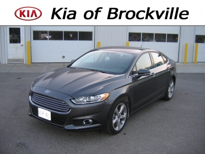 2016 Ford Fusion SE + at Kia of Brockville in Brockville, Ontario