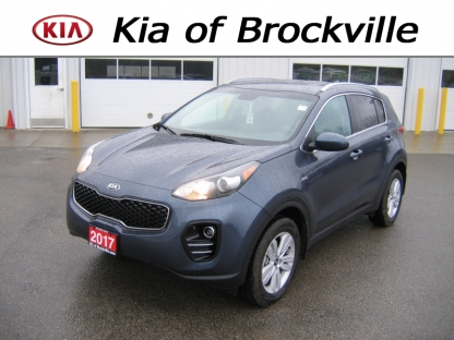 2017 KIA Sportage LX AWD at Kia of Brockville in Brockville, Ontario