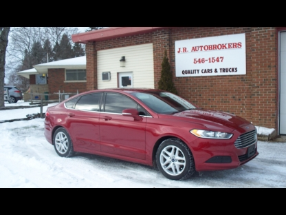 2014 ford fusion se ecoboost 1 5l w sunroof and spotless at jr autobrokers in elginburg. Black Bedroom Furniture Sets. Home Design Ideas