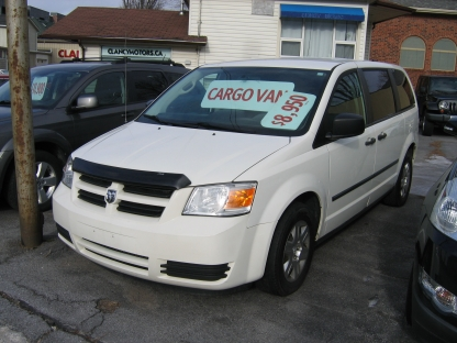 2010 Dodge Grand Caravan Cargo Van at Clancy Motors in Kingston, Ontario
