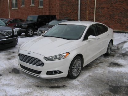 2014 Ford Fusion Titanium Ecoboost Awd At Clancy Motors In