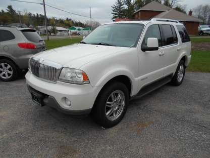 2004 Lincoln Aviator AWD Leather at Summers Motors Eganville in Eganville, Ontario
