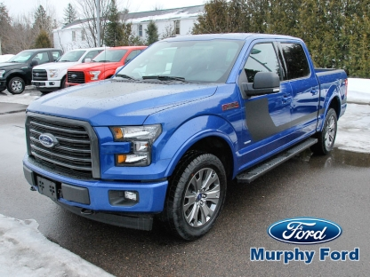 2017 ford f 150 xlt supercrew sport 4x4 at murphy ford in pembroke ontario. Black Bedroom Furniture Sets. Home Design Ideas