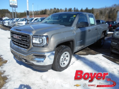 2017 gmc sierra 1500 w t double cab 4x4 at boyer gm bancroft in bancroft ontario. Black Bedroom Furniture Sets. Home Design Ideas