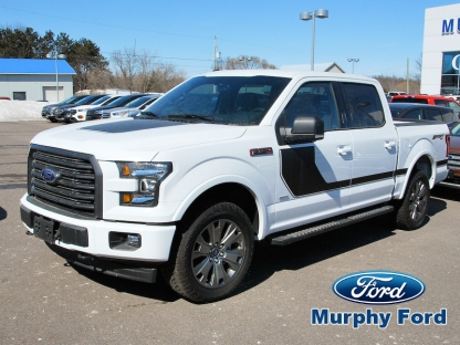 2017 ford f 150 special edition sport 4x4 at murphy ford in pembroke ontario. Black Bedroom Furniture Sets. Home Design Ideas