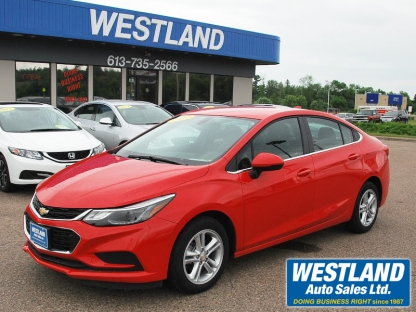 2017 Chevrolet Cruze LT at Westland Auto Sales in Pembroke, Ontario