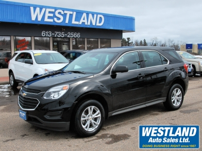 2017 Chevrolet Equinox LS AWD at Westland Auto Sales in Pembroke, Ontario