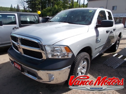 2014 RAM 1500 ST Quad Cab 4X4 at Vance Motors in Bancroft, Ontario