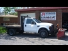 2008 Ford F-350 4X4 Diesel Flat Bed With V Plow!!! For Sale in Elginburg, ON