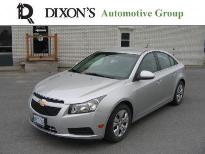 2014 Chevrolet Cruze LT Turbo at Dixon's Automotive Kingston in Kingston, Ontario