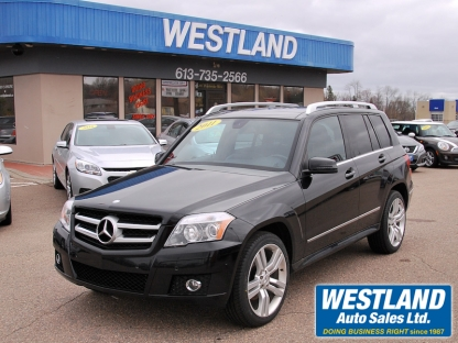 2011 Mercedes-Benz GLK350 AWD at Westland Auto Sales in Pembroke, Ontario