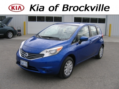 2016 Nissan Versa Note SV 5Door at Kia of Brockville in Brockville, Ontario