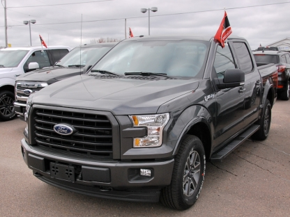 2017 ford f 150 fx4 supercrew sport 4x4 at murphy ford in pembroke ontario. Black Bedroom Furniture Sets. Home Design Ideas