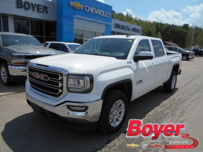 2017 gmc sierra 1500 sle double cab 4x4 at boyer gm bancroft in bancroft ontario. Black Bedroom Furniture Sets. Home Design Ideas