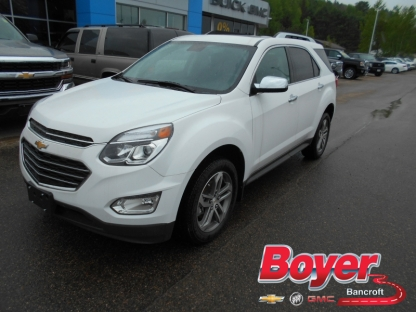2017 chevrolet equinox premier awd at boyer gm bancroft in. Black Bedroom Furniture Sets. Home Design Ideas