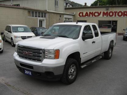 2012 GMC Sierra 2500 HD SLE Ext Cab at Clancy Motors in Kingston, Ontario
