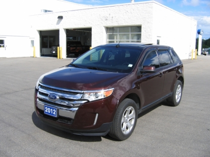 2012 Ford Edge SEL AWD at A&B Ford in Perth, Ontario