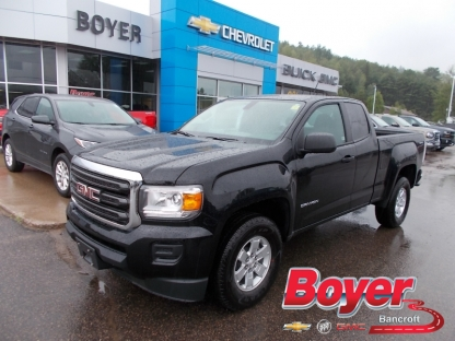 2017 gmc canyon w t extended cab 4x4 at boyer gm bancroft in bancroft ontario. Black Bedroom Furniture Sets. Home Design Ideas