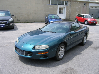1999 Chevrolet Camaro T-Top at Clancy Motors in Kingston, Ontario