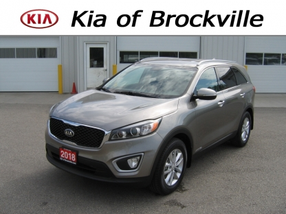 2018 KIA Sorento LX V6 AWD FE at Kia of Brockville in Brockville, Ontario