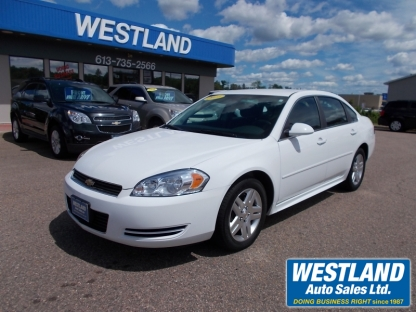 2011 Chevrolet Impala LT at Westland Auto Sales in Pembroke, Ontario