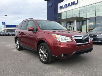2016 Subaru Forester 2.5i Limited Package at Subaru of Kingston in Kingston, Ontario